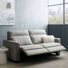 Gray Recliner Sofa Henry Power Recliner Sofa 77 West Elm