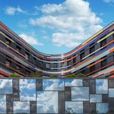 colorful building colorful architecture of a building in hamburg fubiz media