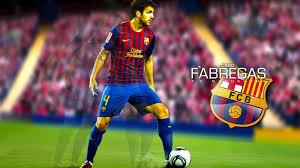 cesc fabregas barcelona hd wallpaper of football hdwallpaper2013 com