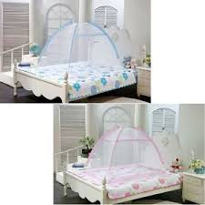 Toddler Bed With Canopy Portable Foldable Baby Toddler Bed Canopy Mosquito Net Tent
