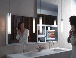 Mirrored Bathroom by Furniture Fascinating Mirrored Bathroom Medicine Cabinet And