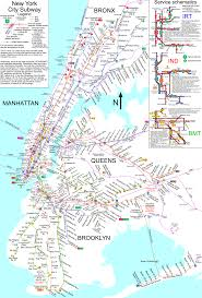 map for new york www nycsubway org new york city subway route map by spui