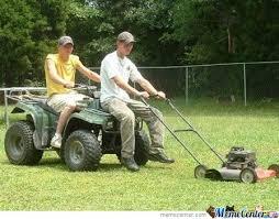 Lawn Mower Meme - lawn mowers