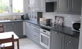 cuisine bois peint cuisine peinte en gris fabulous cuisine bois repeinte en gris le