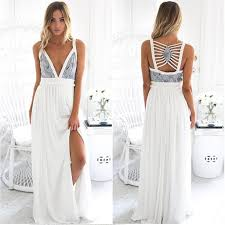maxi kjole hvid lang maxi kjole med ryg detaljer femaelux