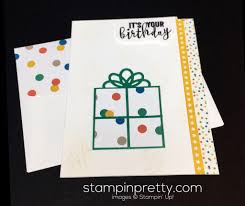 super simple balloon adventures birthday card stampin u0027 pretty