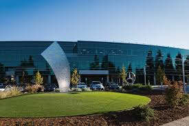 mercedes headquarters daimler supplier magazine mercedes benz premiers at the koaa