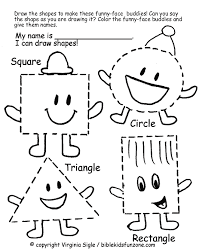 shapes assessment free worksheet shapes activities for