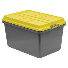 hefty 72 quart storage tote stronger plastic pro storage