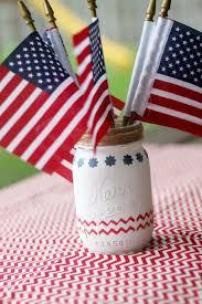 Mason Jar Centerpiece Ideas 4th Of July Mason Jar Centerpieces