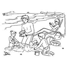 bucket filling coloring pages beach coloring pages 20 free printable sheets to color