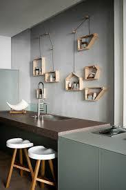deco mur de cuisine comment décorer le mur avec une étagère murale