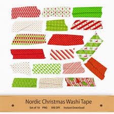 washi tape designs nordic christmas washi tape transparent clip art set scandinavian