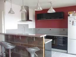 cuisine avec bar ouvert sur salon incroyable intérieur idées de décoration avec supplémentaire 40