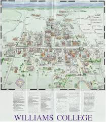 Amherst College Map Williams College Map My Blog