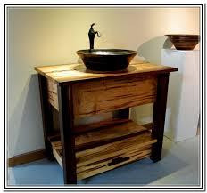 Bathroom Bathroom Vessel Sink Cabinets On Bathroom Intended For - Bathroom vanity for vessel sink 2