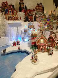 2015 department 56 north pole village displays voor kerstdorp