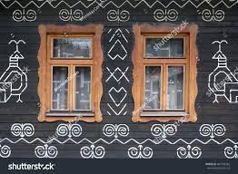 ornaments cicmany slovak folk pattern stock photo 402758362