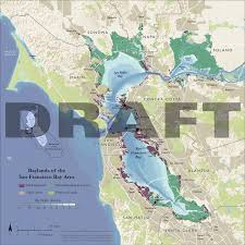 San Francisco Bay Map by Baylands Of The San Francisco Bay Area U2013 Guerrilla Cartography