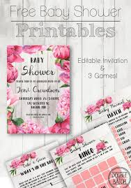 best 25 free baby shower invitations ideas on