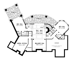Floor Plan With Open Concept Interesting Bedroom House Plans