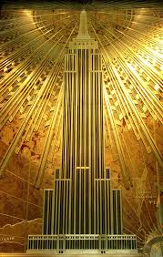 deco plaque metal mural empire state building more on the mylusciouslife blog