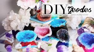 diy sparkly geode crystals w polymer clay u2013 ann le style