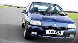 old renault hammond drives the icons renault clio williams top gear