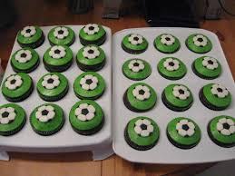 football cupcakes s baking football soccer cupcakes