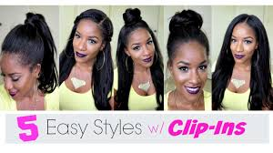 different hairstyles with extensions 5 simple ways to style clip in extensions youtube