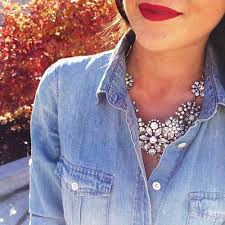 wear statement necklace images 20 style tips on how to wear statement necklaces jpg