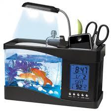 gadget de bureau meteo aquarium de bureau usb avec station météo commentseruiner