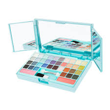 rectangular compact mirror eyeshadow and blush makeup set claire u0027s