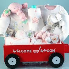 wagon baby baby girl gifts baby gift set wagon deluxe welcome wagon
