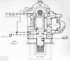 robie house floor plan dimensions