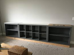 Can You Paint Ikea Furniture by Ikea Hack Expedit Into Long Storage Unit Honeybear Lane