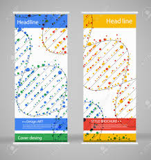 brochure cover design abstract roll up modern poster magazine