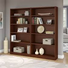 cherry finish bookshelves u0026 bookcases shop the best deals for