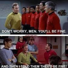 Red Shirt Star Trek Meme - image 585010 star trek know your meme