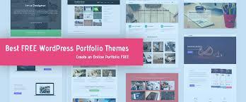 15 Best Free Portfolio Wordpress Themes Templates 2018 Themes Templates