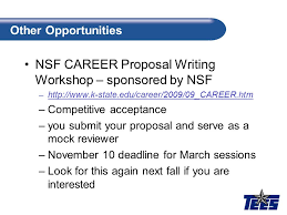 proposal u2013 nsf proposal template ppt video online download