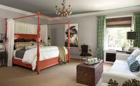 chambre gris vert 12 idées de déco pour une chambre rafraîchissante en vert et gris