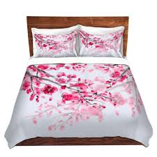 Cherry Duvet Cover Unique Comforter Covers Catherine Holcombe Cherry Blossom