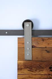 sliding barn door track and rollers modern sliding barn door hardware kit u2013 hingeless