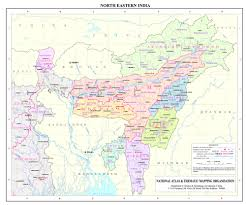 India States Map Ne Region Ministry Of Development Of North Eastern Region North