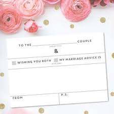 marriage advice cards for wedding wedding advice cards wedding table cards notonthehighstreet