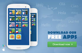 our free mobile apps and learn a language on the go