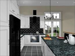 Red And Black Kitchen Cabinets by Kitchen All White Kitchens Pure Modern Black And White Kitchen
