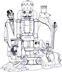 nutcracker coloring pages fablesfromthefriends com