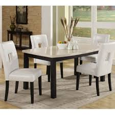 60 inch kitchen table homelegance archstone 60 inch dining table w faux marble top